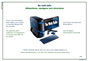 Be Web Safe - Italian