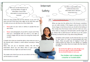 Internet Safety Day Poster